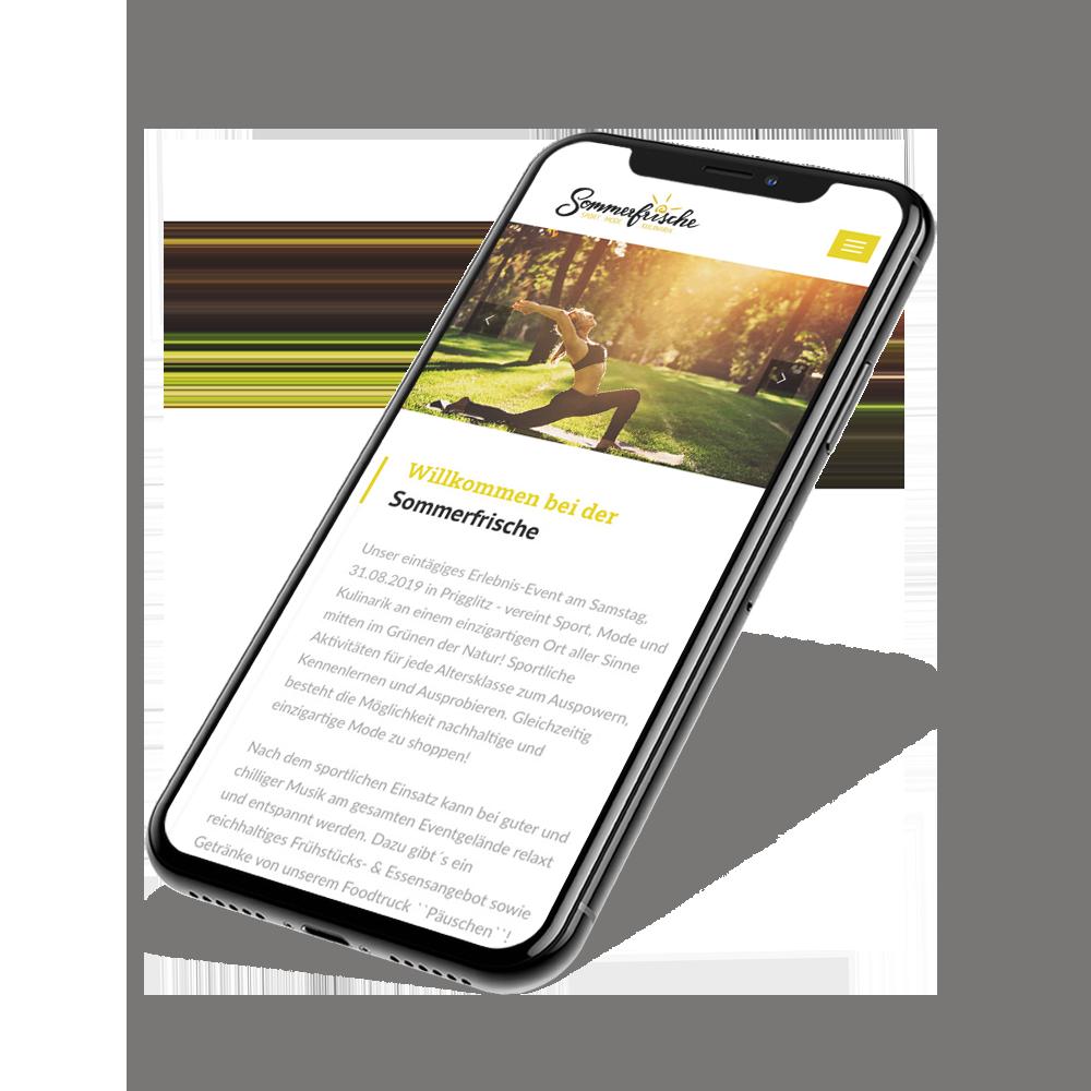 Webdesign & Website - Mobil