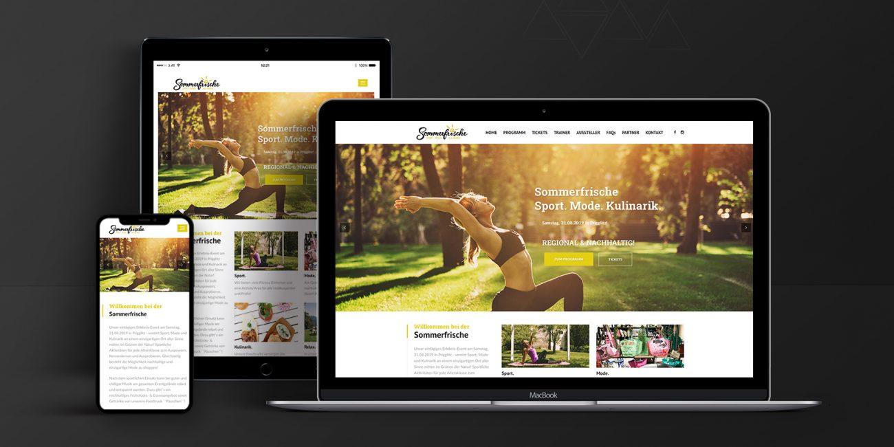 Webdesign Sommerfrische