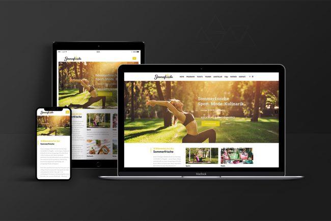 Webdesign & Website - Sommerfrische