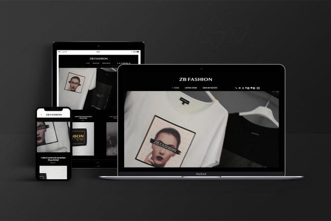 Webdesign & Website & Webshop - ZB-Fashion