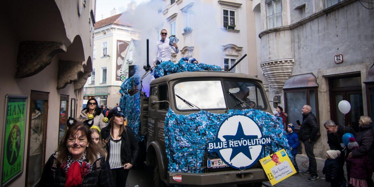 20190305 BlueRevolutionTruck 5 -  - Feelon Media&Entertainment - Event & Werbeagentur