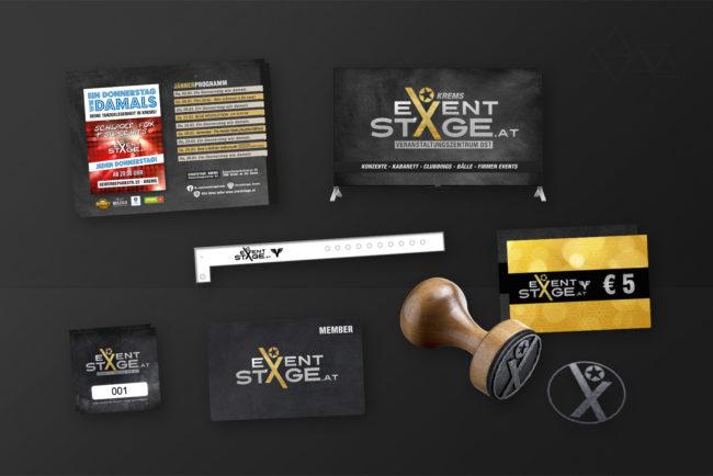 Grafikdesign EventstageWerbung - Grafikdesign - Feelon Media&Entertainment - Event & Werbeagentur